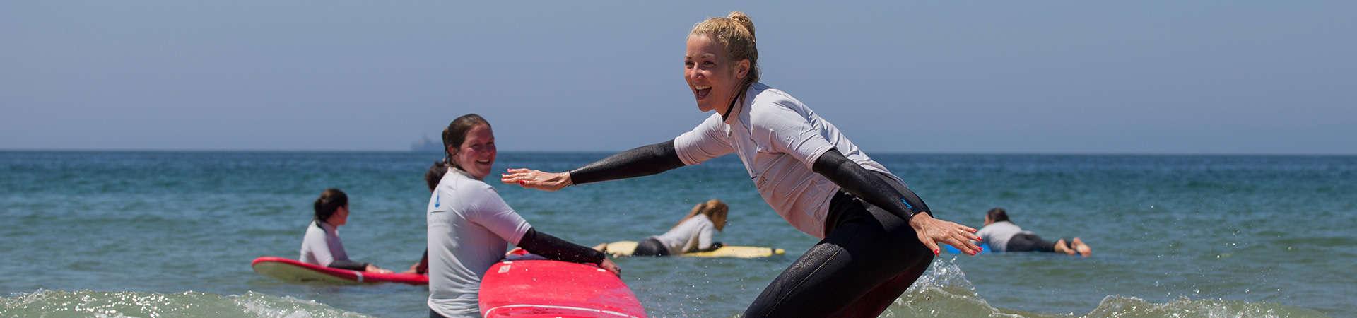 algarve surf lesson beginners