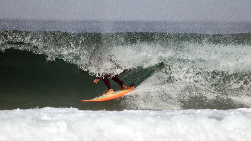advanced surfing lesson lisbon area