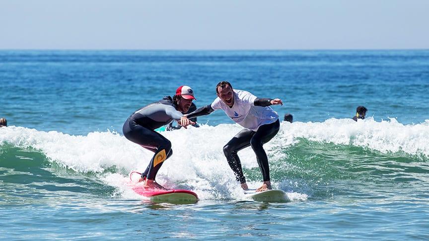 lisbon surf lessons intermediate