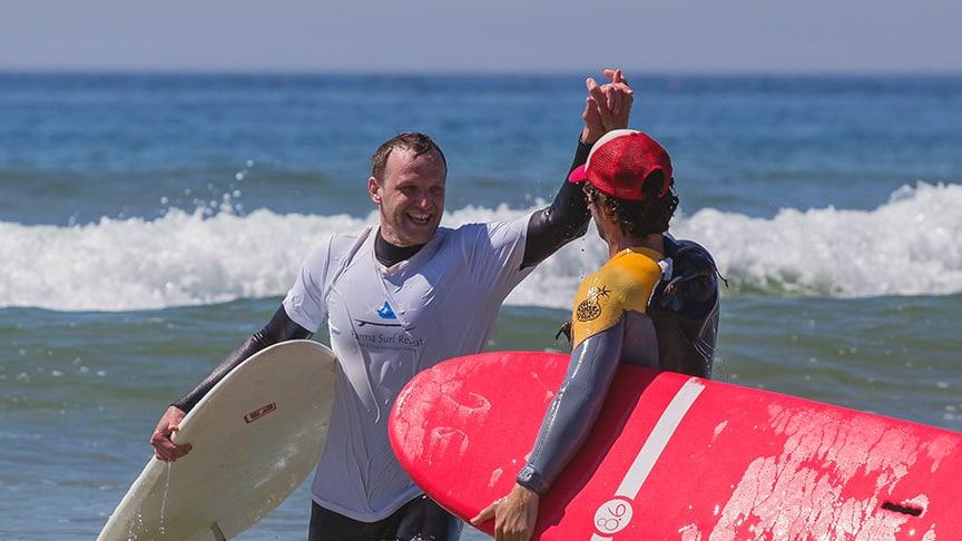 surf instructor karma surf school portugal