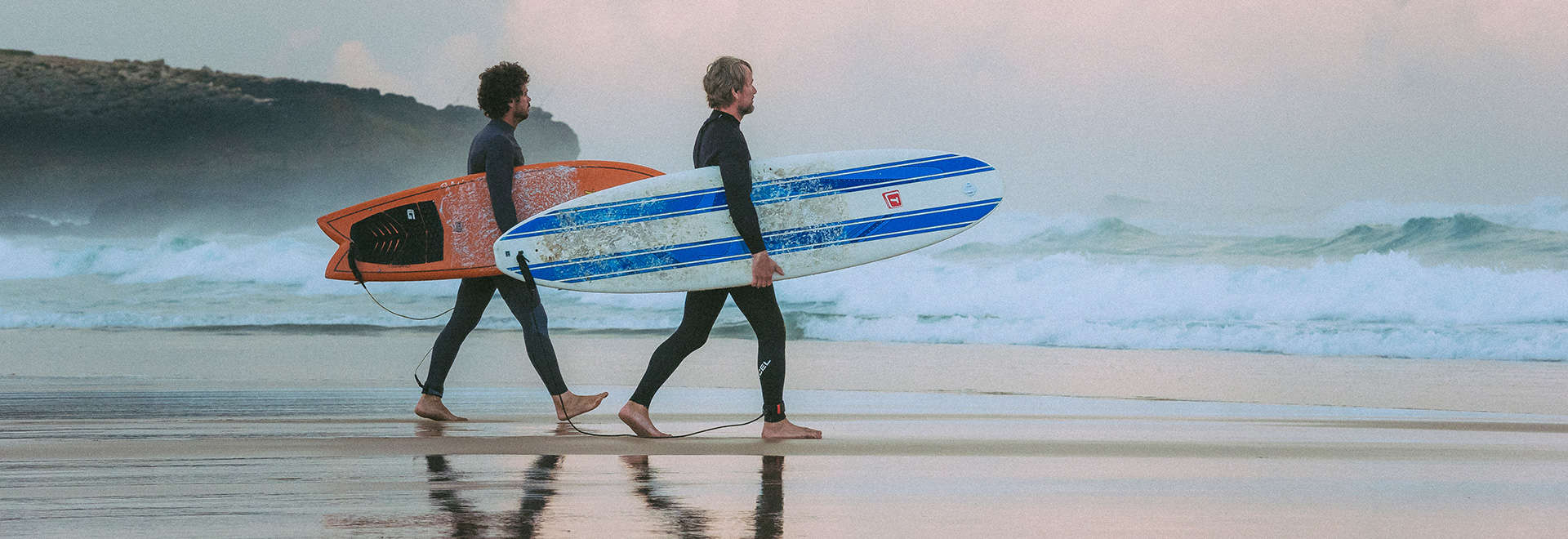surfer at beach surf guiding lisbon area