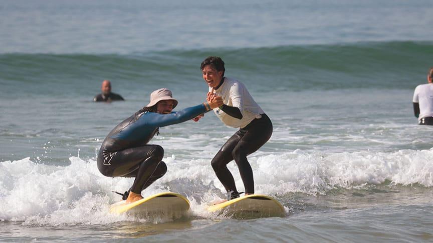 instructor surf teaching surf school