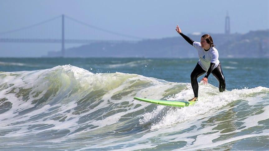 intermediate surf course