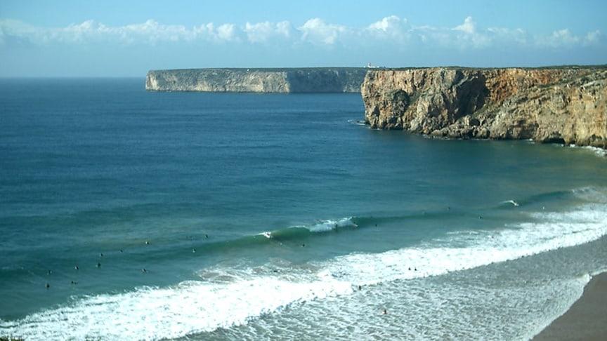 algarve surf spot beliche