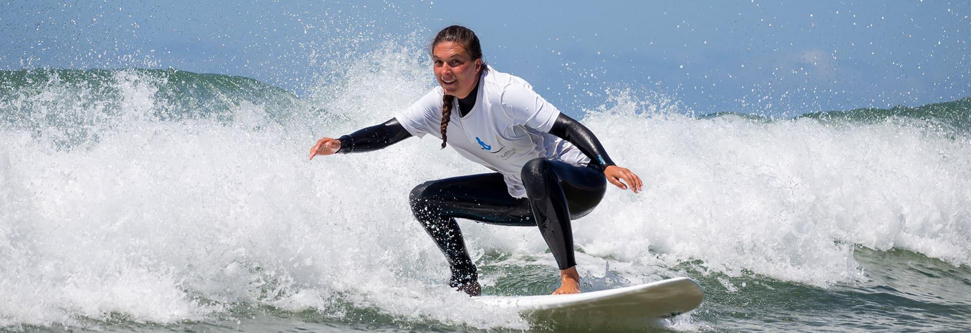 surf lessons intermediate surfers