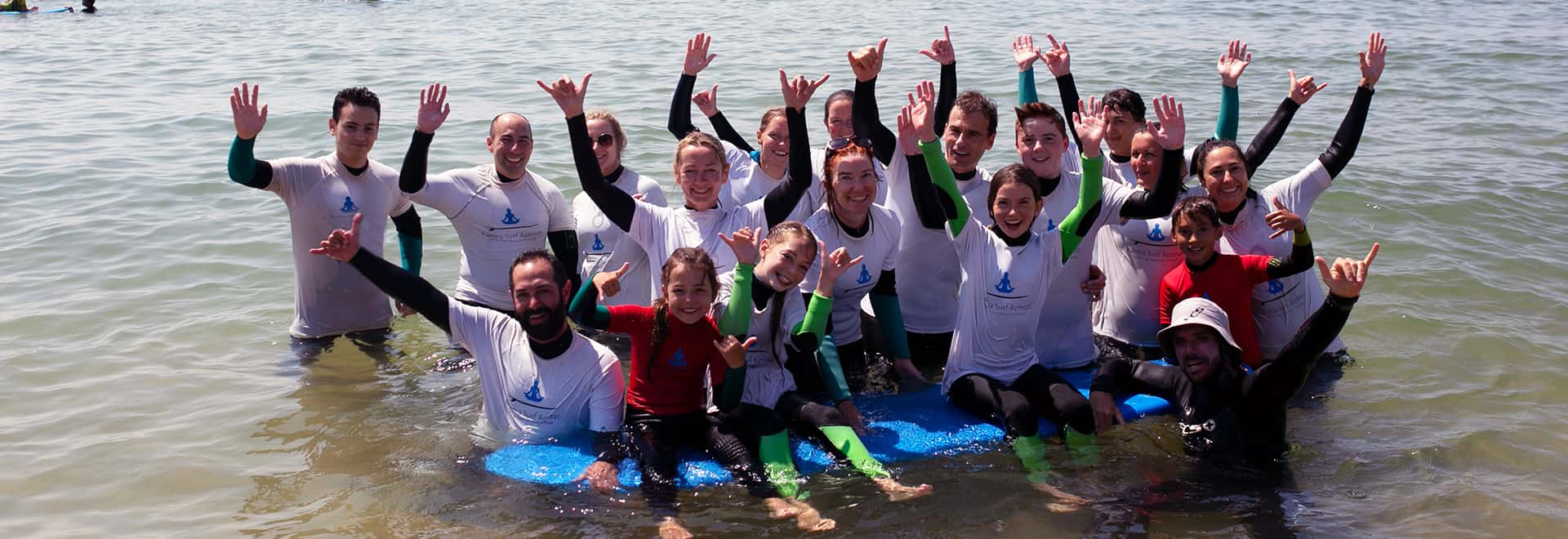 group surf lessons lisbon algarve