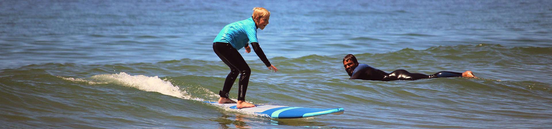 surf course beginner lisbon algarve